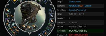 Kill eines der ältesten Titane im Spiel